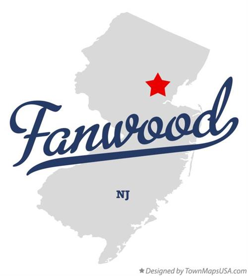 Fanwood Map Graphic
