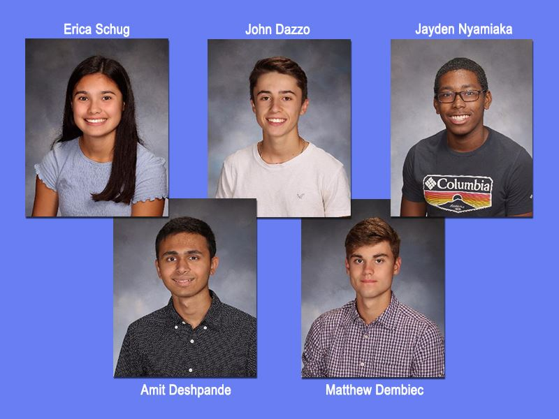 Commended Students in the National Merit Scholarship Program