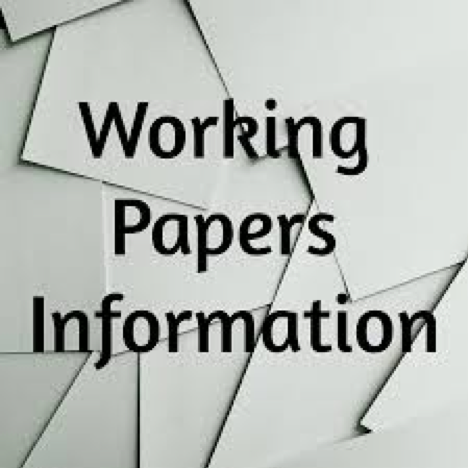 working papers information