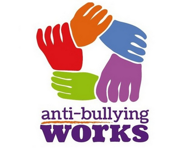 Hands entwined to show anti-bullying works