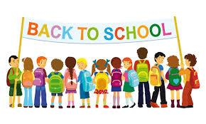 Back to school banner clipart